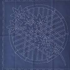 Sashiko Patterns Simple Sashiko Patterns Fabrics A Threaded Needle