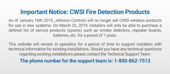 CWSI :: The future of wireless fire alarm technology has arrived.