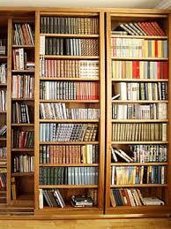 large bookcase design furniture wooden storage organization
