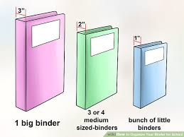 4 Binder How To Organize Your Binder For School 14 Steps With Pictures