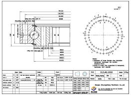 Internal Gear Design China Customized Internal Gear Single Row Ball Slewing Ring