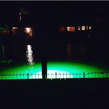 Dock Lights Marine Check Out That Green Glow Illumiseas Mega Watt Green Is