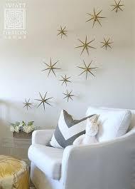 star wall decor gold stars decal vinyl stickers golden kids metal barn  on gold stars wall art with star wall decor metal art dr celestial nursery with lights guruz
