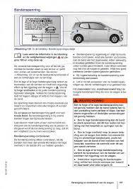 Handleiding Volkswagen Up Pagina 199 Van 272 Nederlands