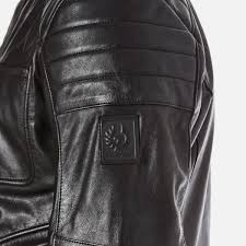 belstaff men s weybridge biker jacket black image 6