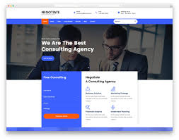 Free Business Templates Most Popular Free Consulting Website Templates Colorlib