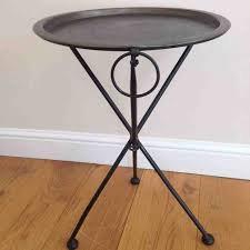 round metal side table best 25 round metal side table ideas on side coffee pertaining