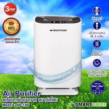 Smarthome เครื่องกรองอากาศ กรองและบอกระดับ PM2.5 รุ่น AP-180 + ไส้กรอง  AP-181