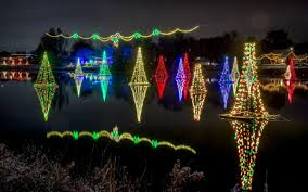 Salem Pond Lights Keeping Christmas Afloat Handmade Efforts Keep Pond Town