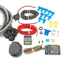 13 pin universal towbar wiring kit inc bypass relay