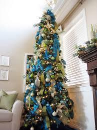 I Love This Tree  Holiday Decoration  Pinterest  Trees Silver Blue Christmas Tree Ideas