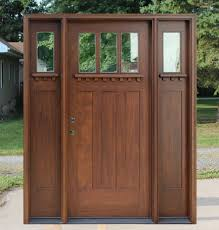 front door with sidelitesMahogany Exterior Doors with Sidelights and Transoms 68