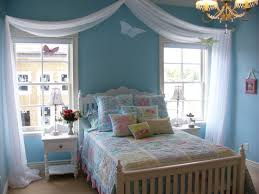 light blue bedrooms for girls. Light Blue Theme For Feminine Girls Idea Bedrooms Y