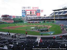 Nats Park Seating Chart Seat Numbers Flow Charts