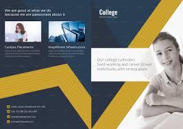 College Templates College Brochure Template