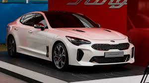 2018 kia gt stinger. brilliant kia 2018 kia stinger gt korean showstopper lobs down under to ace australian  open crowds in kia gt stinger