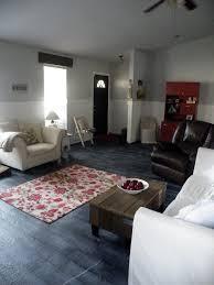 Painted Concrete Floors Living Room Floor Done Twentysixfiftyeight