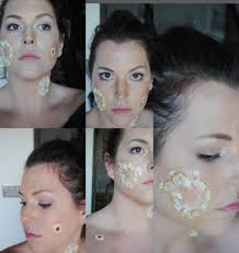 zombie makeup step by step photo 2