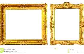 ornate picture frames ornate picture frames decorative ornate gold frame label vector image antique black ornate picture frames