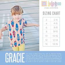 Lularoe Kids Size Chart Gracie Www Facebook Com Groups Lularoeheatherturner