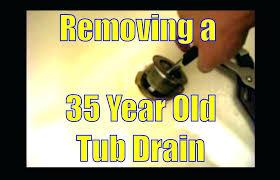 fix tub drain changing bathtub drain bathroom lovely idea how to fix bathtub drain interior design