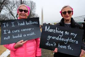 why they ed a photo essay from the women s in washington i think it s great for everybody to show force i ve ed for breast cancer i m a breast cancer survivor but otherwise this is my first