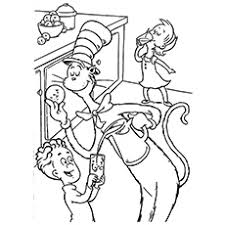 Small Picture Top 20 Free Printable Cat In The Hat Coloring Pages Online