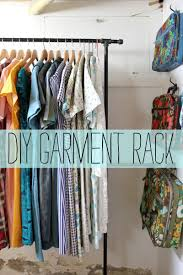 Looking for a budget friendly way to create garment racks for your home?  Today Rachel shares her D.I.Y. method