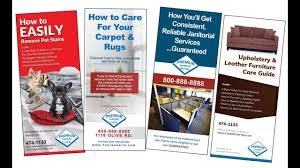 Cleaning Brochure Cleaning Brochure Sales For Carpet Cleaning Janitorial Commercial Business