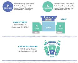 Seating Chart Columbus Childrens Theatre