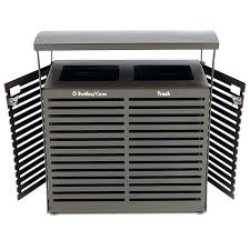 commercial outdoor trash cans. Commercial Outdoor Trash Cans Can Designs Grade . O
