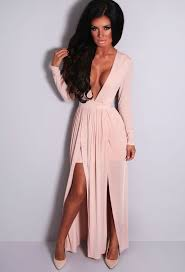 25 best ideas about Nude long dresses on Pinterest Evening.