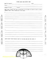 Biography Book Report Template 1 3rd Grade 2 Ushouldcome Co