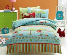 Treetop Explorer Bedding Collection From Kids Bedding Dreams Blue Treehouse Bedding