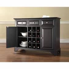 furniture buffet. crosley furniture lafayette buffet server and sideboard cabinet with wine storage l