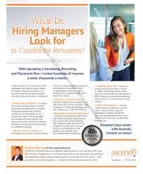 Jobs Hiring Without Resume What do Hiring Managers Look for in Candidate Resumes 91