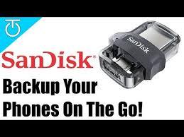 <b>SanDisk</b> Dual <b>USB Drive</b> 3.0 & Smartphone <b>MicroUSB Drive</b> Hands ...