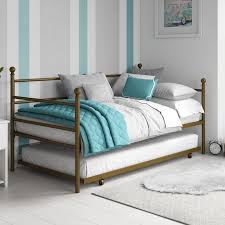 mainstays metal daybed with trundle