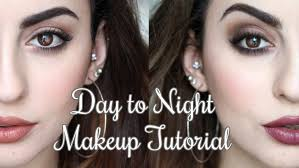 in this video i decided to do a day to night makeup tutorial to show how to take a simple day time look and transform it into a pletely diffe