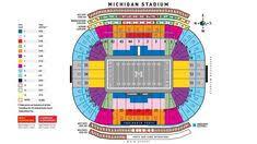 Seating Chart Michigan Football Stadium 34 Best Michigan Athletics Images In 2019 Michigan Go