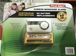 costco 832151 first alert carbon monoxide alarm