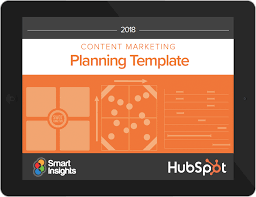Content Marketing Planning Template
