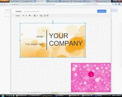 Business Card Template Google Docs Best Template Examples