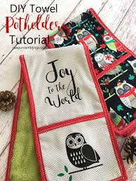 hands down our favorite gift for foos double potholders that function as kitchen towels