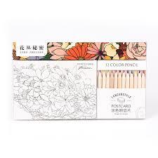 12 pcs set packaging color pencil for secret garden total 12 diffe colours colored get
