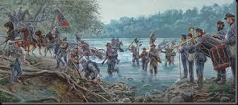 Image result for Lee led his 75,000-man Army of Northern Virginia across the Potomac River