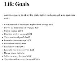 goals essay life goals essay