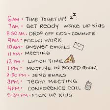 How To Get Your Family Organized And On A Schedule In Three