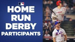 2021 Home Run Derby Participants (ft ...