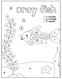 If you are enjoying the coloring book please consider showing. Worksheets For Kindergarten And Preschool Color By Letter Coloring Pages Set 6 Letters V Y X How Wee Learn